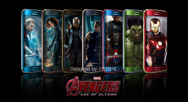 Avenger's Theme packed Samsung Galaxy S6 and Galaxy S6 Edge ...