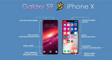 Samsung Galaxy S9 VS iPhone X