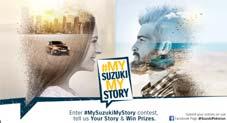 Revive Your Beloved Suzuki Car Memories with #MySuzukiMyStory Contest
