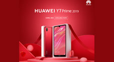 Huawei Showers its Love in Pakistan with a Coral RedEdition of HUAWEI Y7 Prime 2019