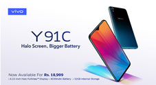 Vivo Launchesthe Affordable Y91C with Halo Display &Bigger Battery