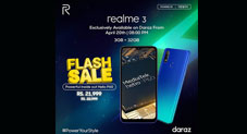 Realme 3 Sale is Now Live on Daraz