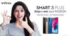 Infinix Smart 3 Plus Goes On Sale Both online & Offline at Pkr 16,999 After Massive Pre-Orders
