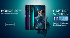 Say Hello to the Most Anticipated Smartphone of the Season - HONOR 20 PRO Now Available Across All Channels
