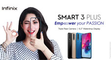 Infinix Smart 3 plus, the hottest selling smartphone is now available at an exciting new price of Rs.15,500