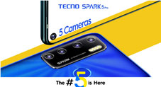 Can number 5 be a special digit for the Brand TECNO in their new model?