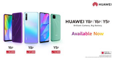 After A Highly Successful Pre-order Phase, HUAWEI Y6p & HUAWEI Y8p Made Available in Pakistan