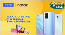 vivo Pakistan Launches Azaadi Sale in Collaboration with Daraz