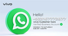 vivo Pakistan Announces Contactless Customer Support via WhatsApp
