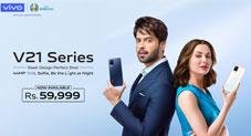 ویوو نے پاکستان میں نائٹ سیلفی سسٹم والے  vivo V21 کی فروخت کا آغاز کر دیا