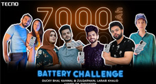 TECNO POVA 2 Battery Endurance Challenge End Successfully