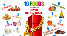 Some Foods You Should Never Refrigerate