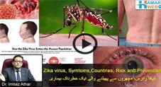 ذیکا وائرس٬ مچھروں سے پھیلنے والی ایک خطرناک بیماری