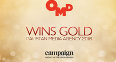 "OMD wins ""Pakistan Media Agency of the Year"" at the Campaign Asia-Pacific Agency of the Year Awards 2016"