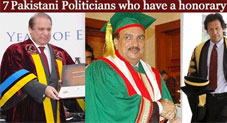 7 Pakistani Politicians with a Ph.D.