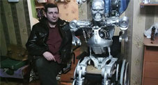 Russian Programmer 3D-Prints His Very Own T-800 Terminator Robot Complete with Artificial Intelligence
