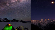 City Lights And Galaxies – Stunning Beauty Of Pakistan At Nighttime