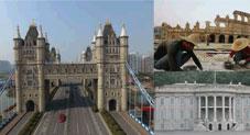 دنیا کی مقبول ترین عمارات کے حیرت انگیز چینی ورژن