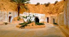 The Underground Homes of Matmata, Tunisia