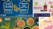 Most Promising Sehr o Iftar Deals to Look Up to This Ramadan 2017