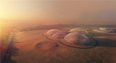 The UAE is building a £100 million 'Martian city' in the Emirati desert to simulate life on the red planet