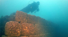 Incredible 3,000-year-old castle found at bottom of lake