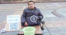 No Loose Change? Chinese Beggars Are Now Accepting Mobile Payments