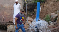 Engineer develops heavy-duty hydraulic ram for use in hilly areas