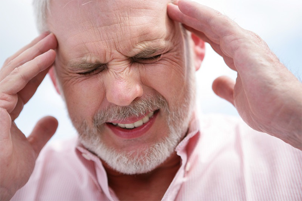 Persistent headache