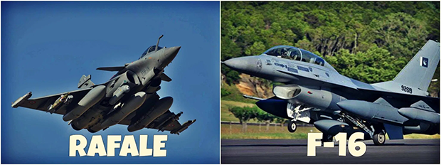 Can Indian Rafale aircraft defeat Pakistan's F16?