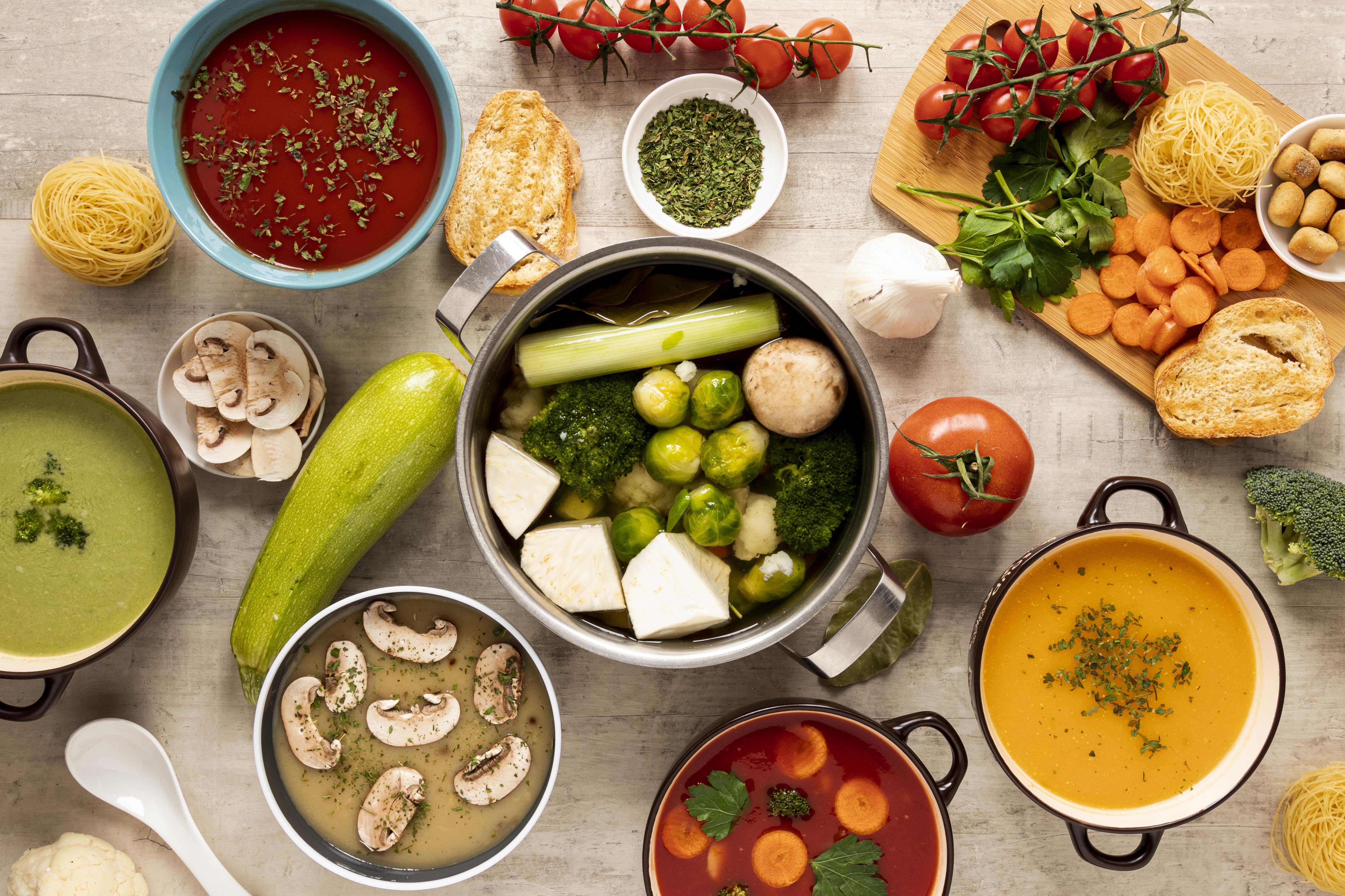 جانئیے چند مزیدار کھانے جن سے وزن بھی نہ بڑھے اور غذائیت بھی ملے