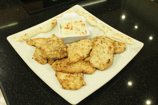 Chicken With Hummus Sauce Recipe by Chef Zakir