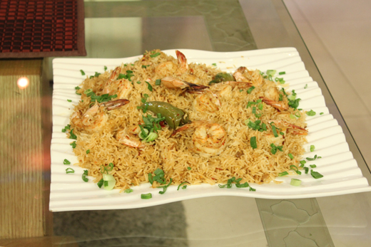 Thai Prawn Rice Recipe by Gulzar Hussain