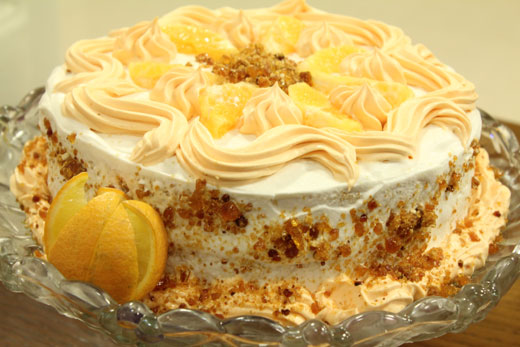 Orange Crumbled Cake Recipe By Shireen Anwar