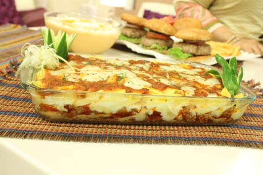 Cheesy Pasta Bolognese Recipe By Shireen Anwar