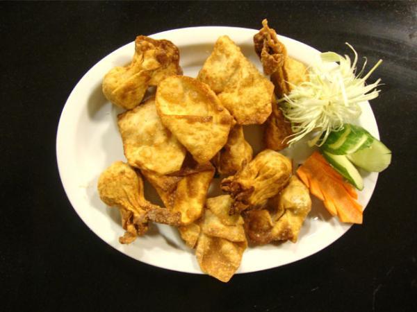 Fried Wontons Recipe by Shireen Anwar