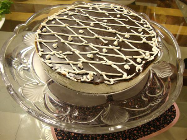Cake Recipes In Written: Chocolate Cheese Cake Recipe By Shireen Anwar