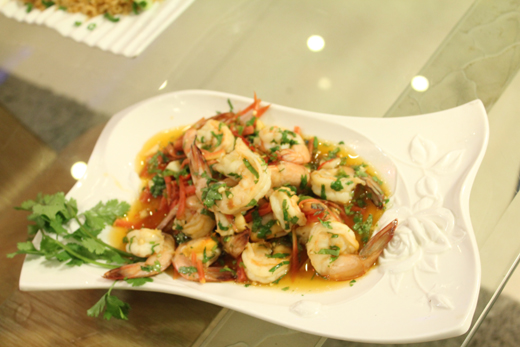 Bankok Prawn Salad Recipe by Zubaida Tariq