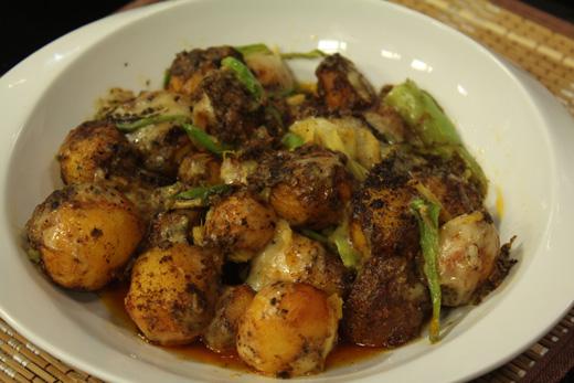 11691 - Cheesy Tandoori Aloo Recipe
