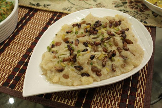 Sheera Recipe by Zubaida Tariq