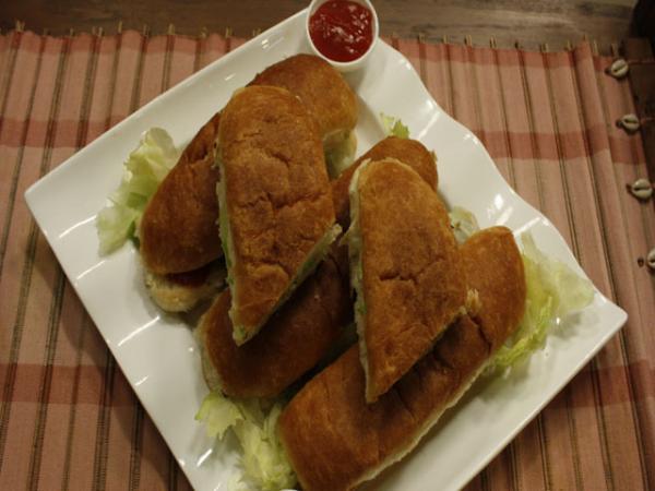 Barbeque Sandwiches Recipe by Zubaida Tariq