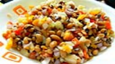 Diet Lobia Salad Recipe