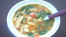 Pasta and Tomato Soup