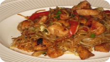 Chinese Chicken Chow Mien or Chowmein