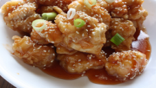 Sesame Chicken Balls