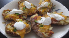 Stuffed Sour Potatoes