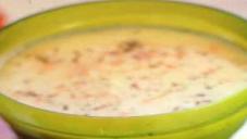 پھول گوبھی اور پنیر کا سوپ