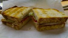 سادہ سینڈوچ