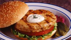 Fish Burger And Tartar Sauce