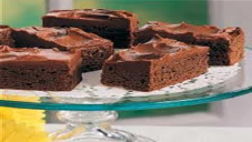 Fudge Brownies with Frosting